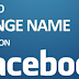 How Can You Change Your Name On Facebook