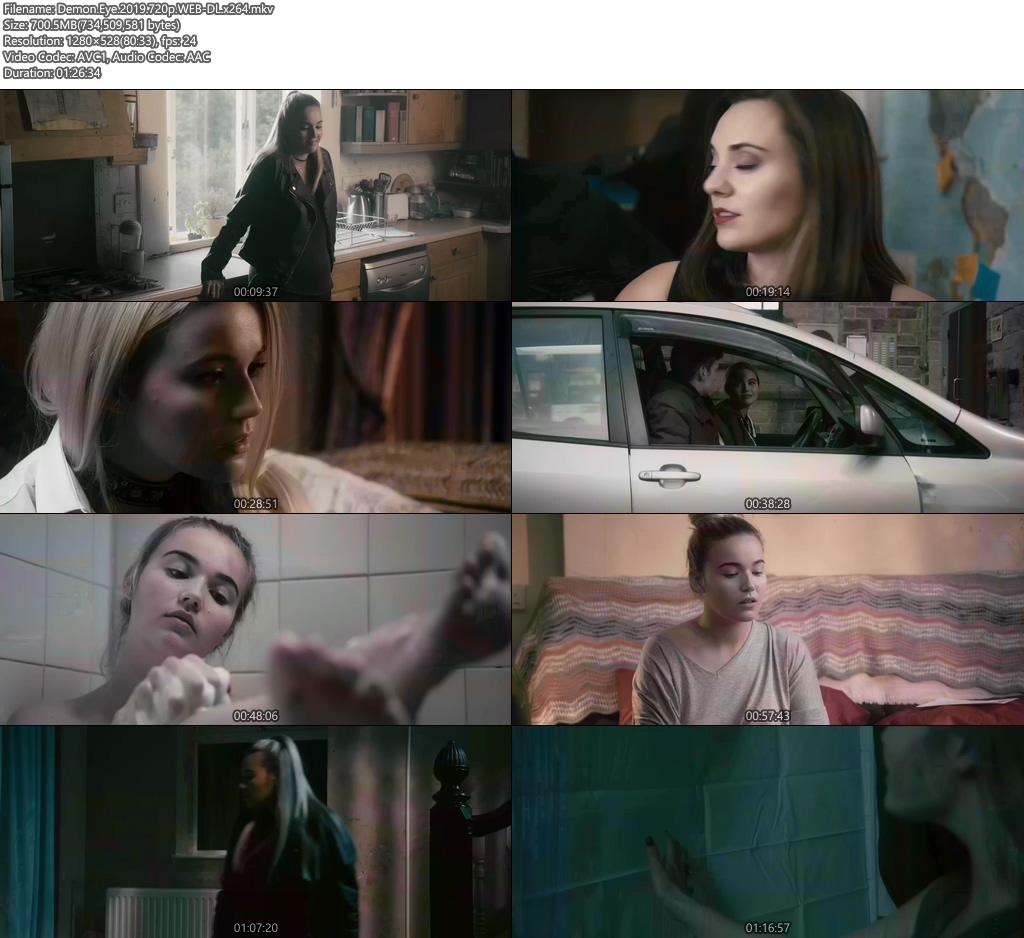 Demon Eye 2019 720p WEB-DL x264 | 480p 300MB | 100MB HEVC Screenshot