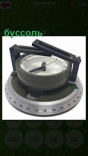 прибор буссоль как компас геодезиста