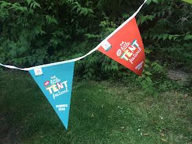 Flags for our autims friendly mini festival
