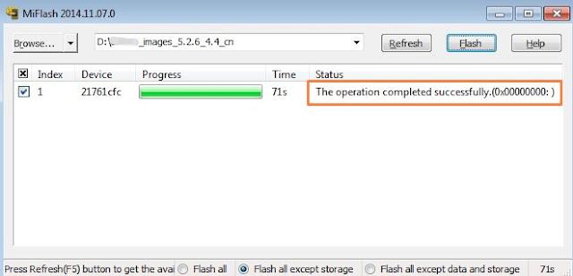 Cara Fastboot Xiaomi Redmi 3 Pro 13