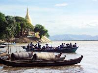Irrawaddy River at Bagan