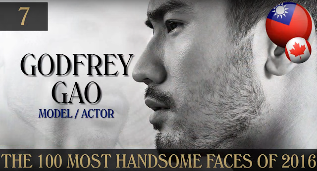 Godfrey Gao 100 Handsome Faces