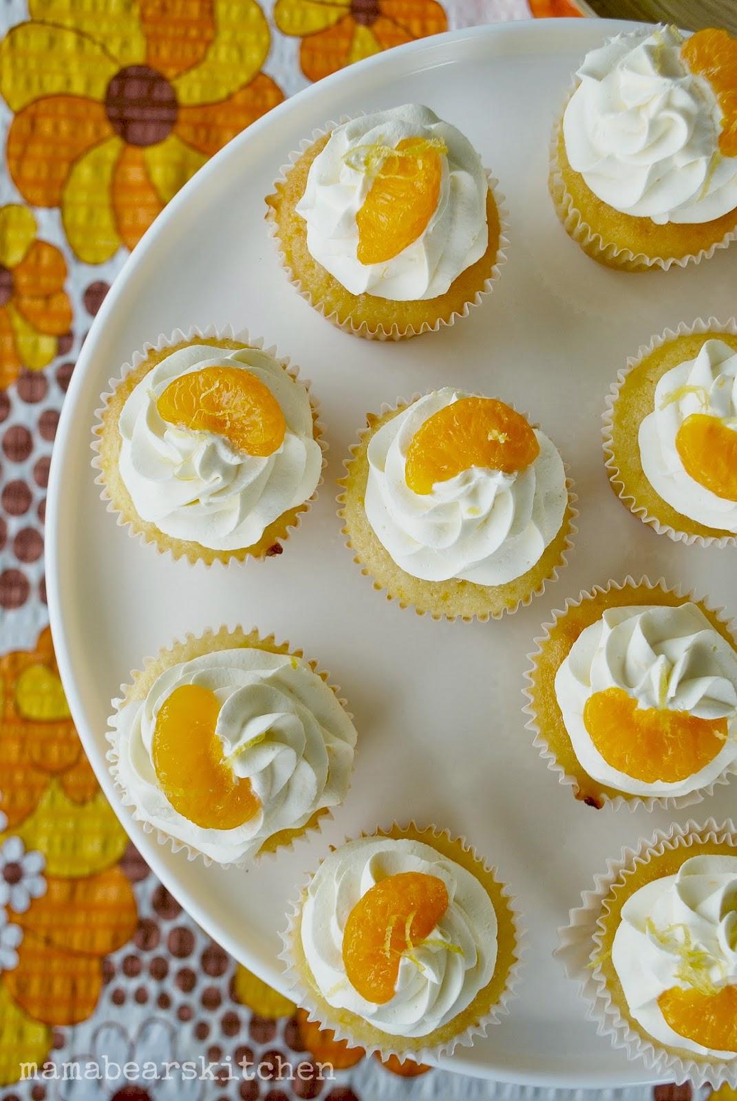 Mandarin Cupcake Recipe Mama Bears Kitchen