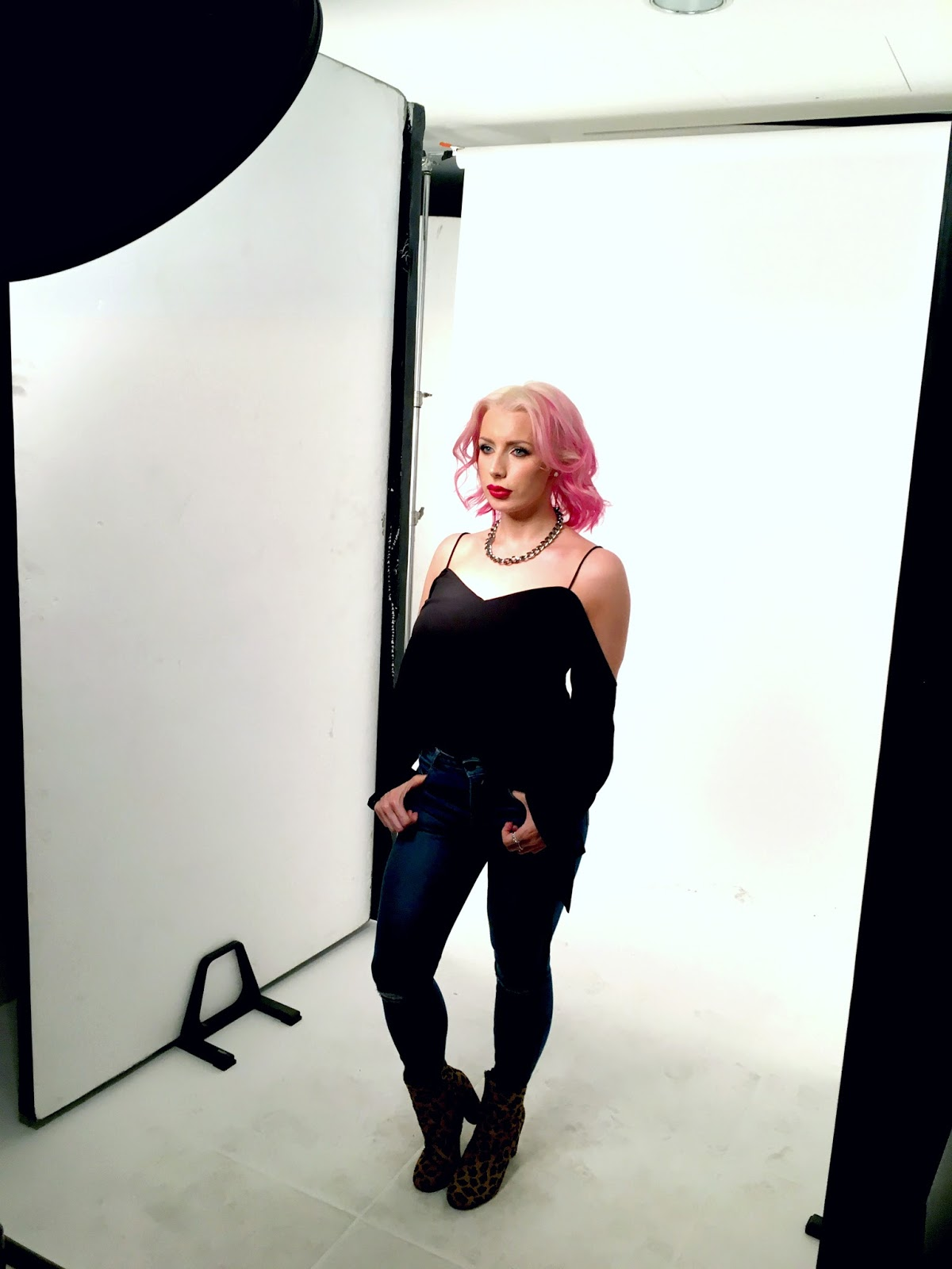 Shooting For L'Oreal Professionel's New Hair Colour Range: #MyColorfulHair