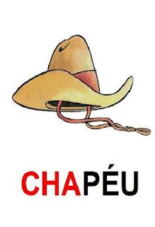 cartaz cha de chapéu