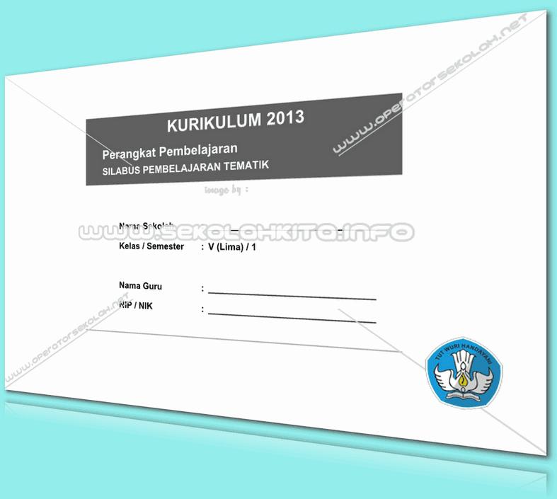Silabus Kurikulum 2013 SD Integrasi Kelas 5 Tahun 2016