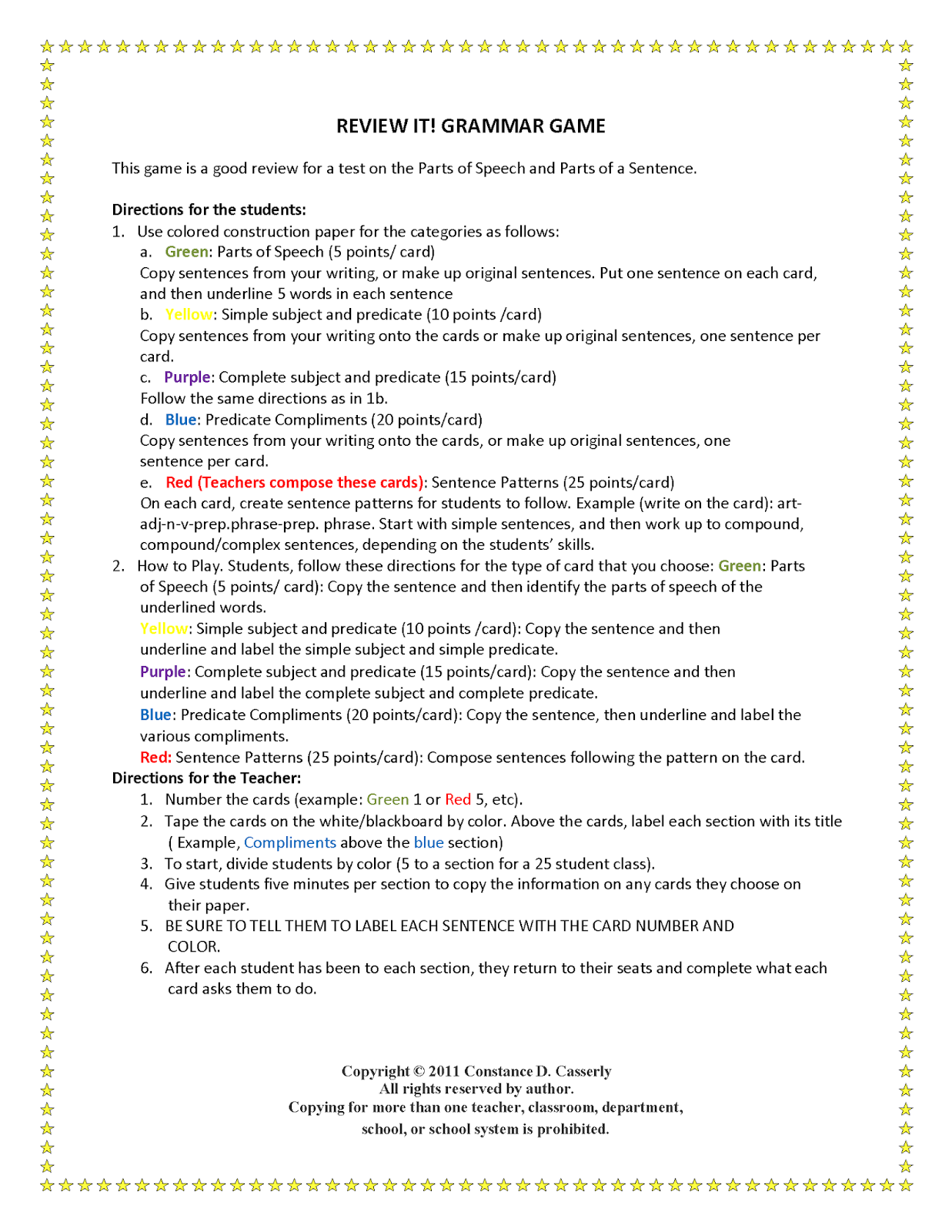P Rts Of Speech W Ksheets Middle School Free W Ksheets Libr Ry