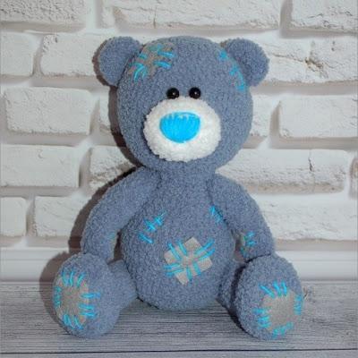 Медвежонок Тедди амигуруми крючком