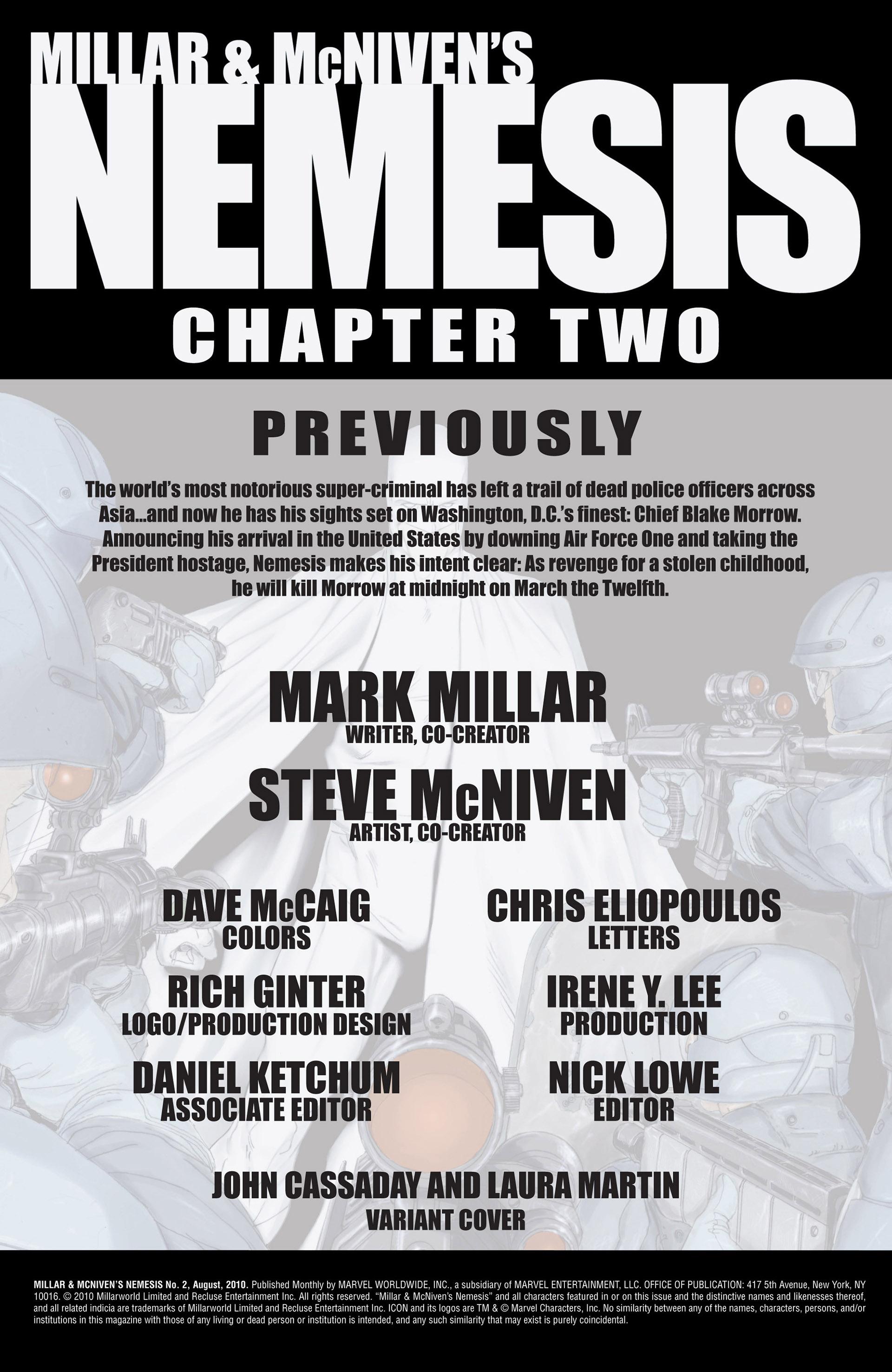 Read online Millar & McNiven's Nemesis comic -  Issue #2 - 2