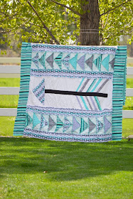 Arrow Rag Quilt Pattern by A Vision to Remember