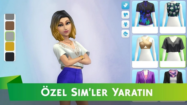 the sims mobil hile