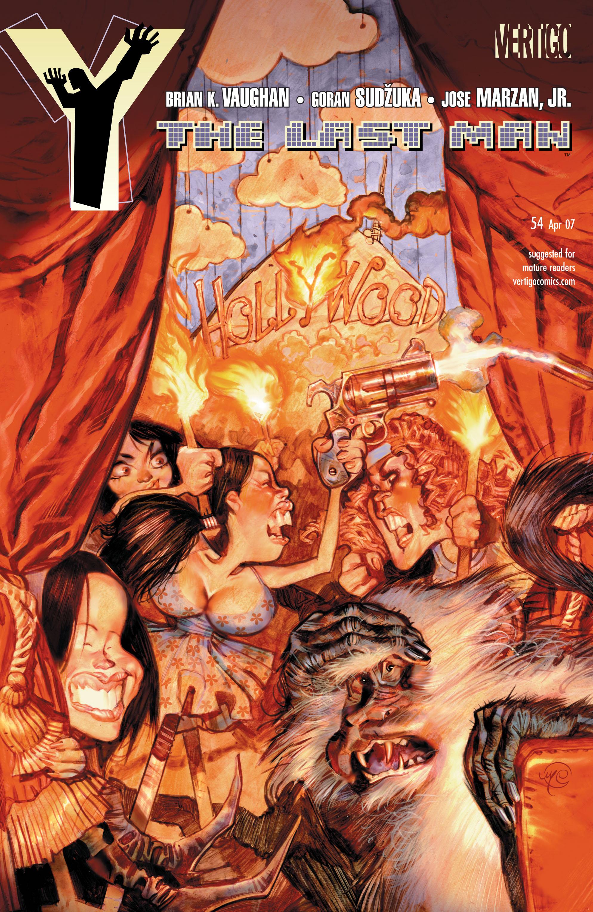 Y: The Last Man (2002) 54 Page 1