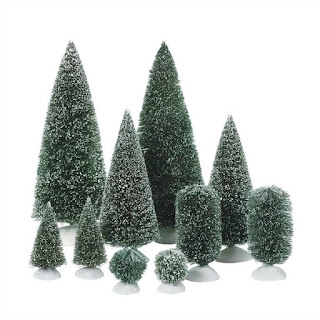 Mini Fake Christmas Trees