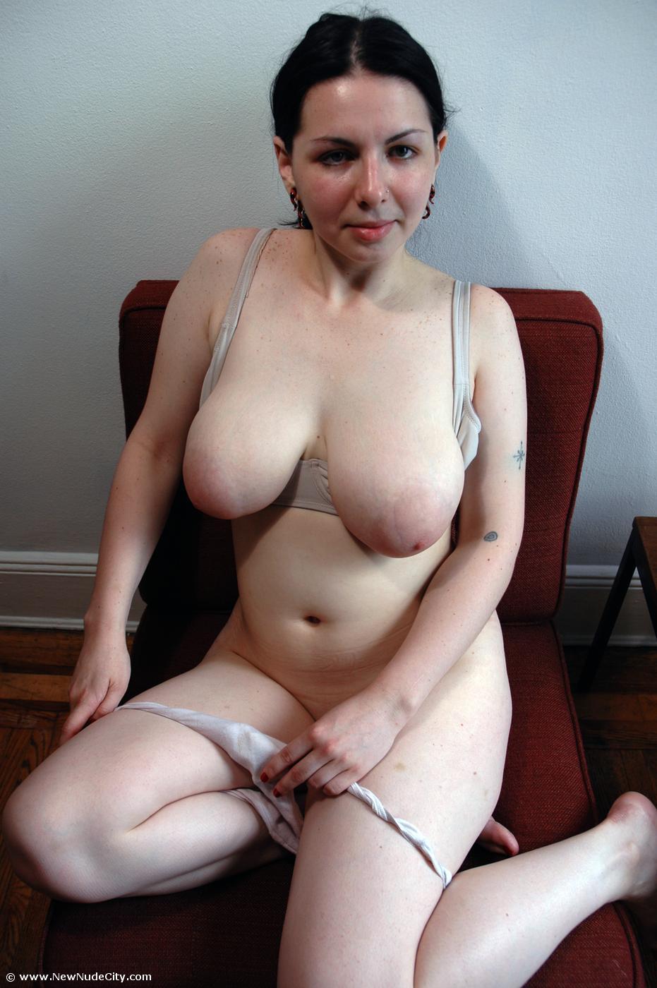 busty Alina nude