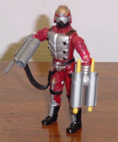 2001 Funskool Crimson Guard Immortal, India, Variant