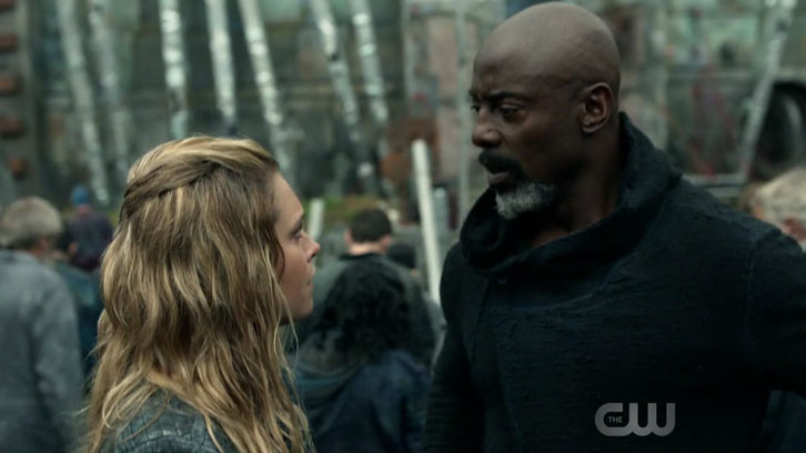 "The 100 - A Lie Guarded - Review: ""A Bit Messy"""