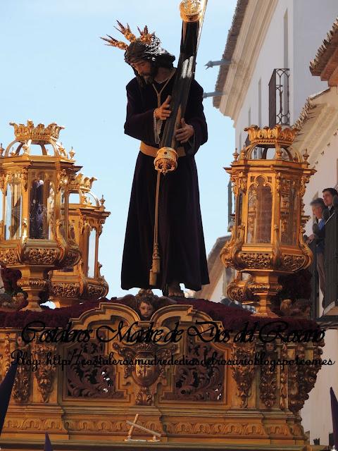 Mañana de Viernes Santo, El Nazareno camina por Villanueva de los Infantes. parte II