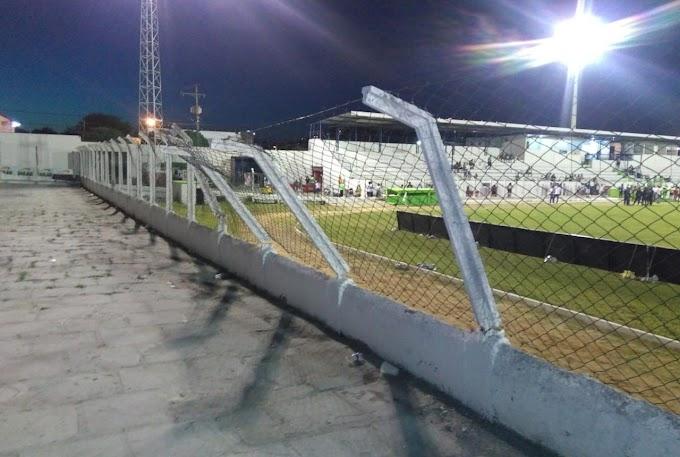 Após quebra-quebra de torcida do Atlético em Jacobina, torcedor dispara: 'São marginais'
