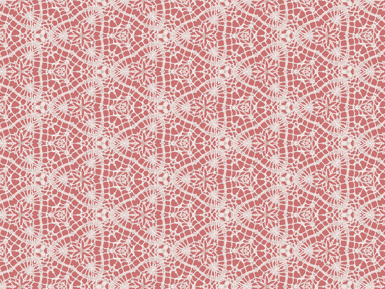 ArtbyJean - Images of Lace: OFF WHITE LACE OVER OLD ROSE ...