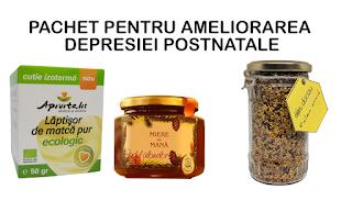 Cumpara de aici Produse apicole care vindeca depresia dupa nastere livrare in Uniunea Europeana
