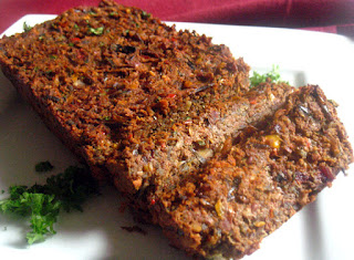 Wild Rice and Kidney Bean No-Meat Loaf