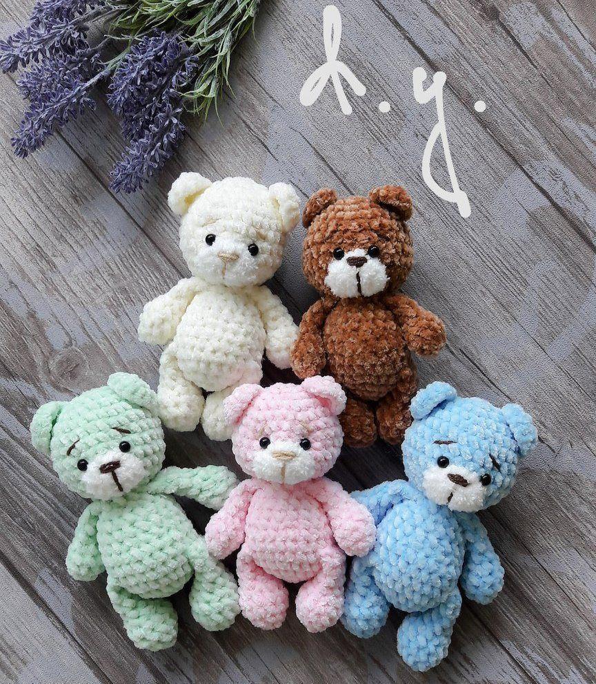 Little Bear Amigurumi Pattern Amiguroom Toys