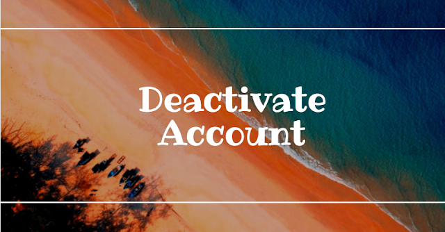 Deactivate My Account on Facebook - 2018 Guide