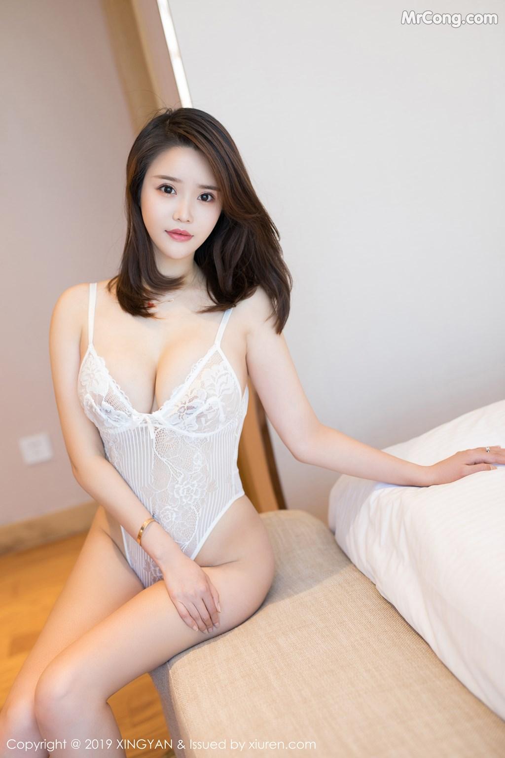 Image XingYan-Vol.118-Vily-MrCong.com-008 in post XingYan Vol.118: Vily豆豆 (49 ảnh)