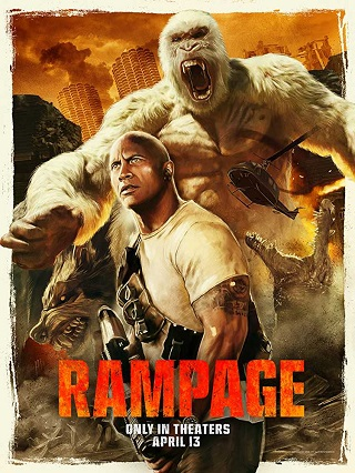 Rampage 2018 English 999MB BRRip ESubs 720p