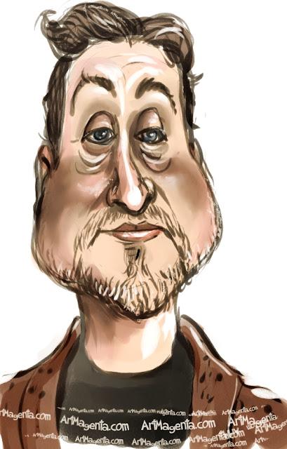 Janne Josefsson är en karikatyr av Artmagenta