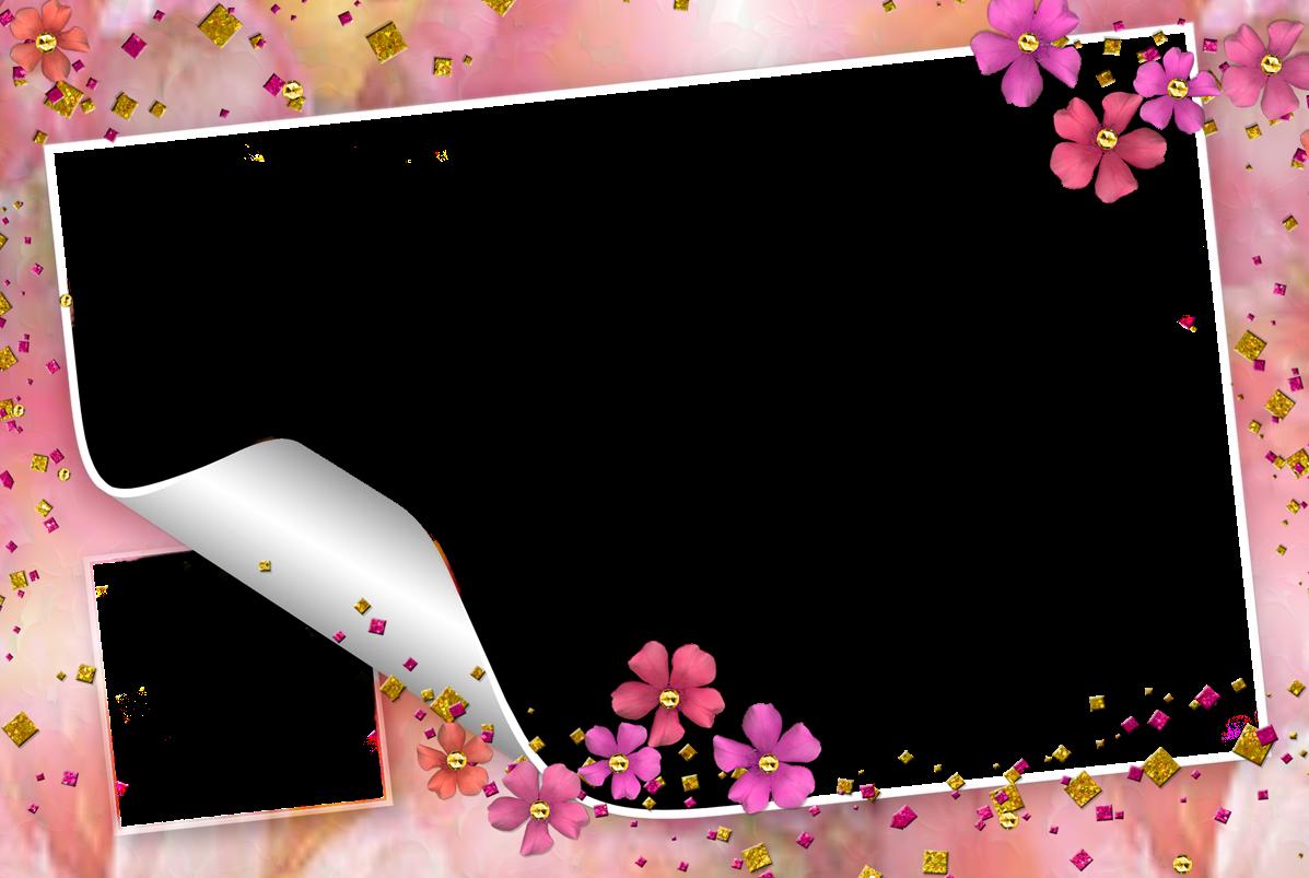 Cartao De Amor Para Photoshop: DO OUTRO LADO DOS MEUS SONHOS... : Molduras Floral