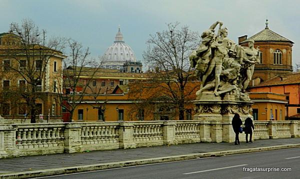 Roma - Itália - Ponte Vittorio Emanuelle
