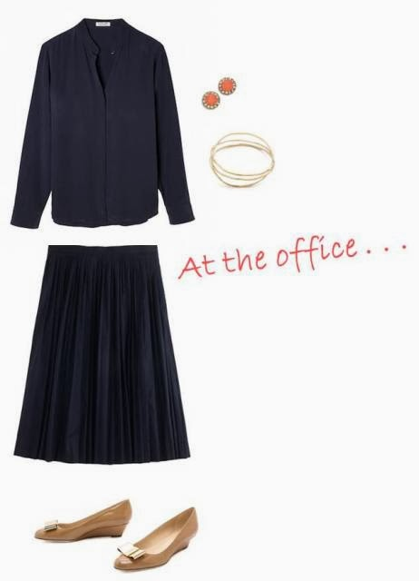 Spring outfit for work