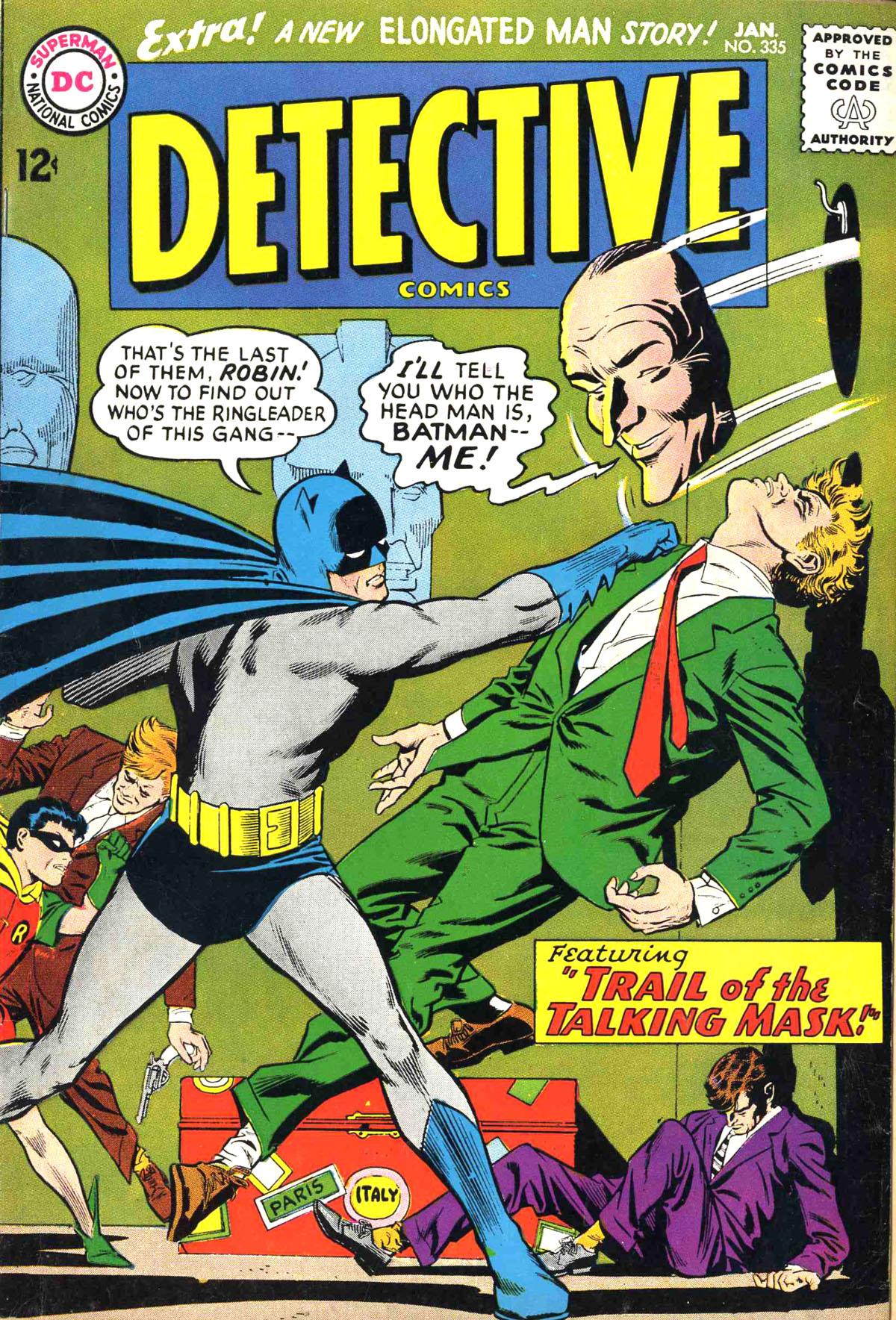 Detective Comics (1937) 335 Page 1