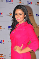 Sree Mukhi in Pink Kurti looks beautiful at Meet and Greet Session at Max Store (47).JPG