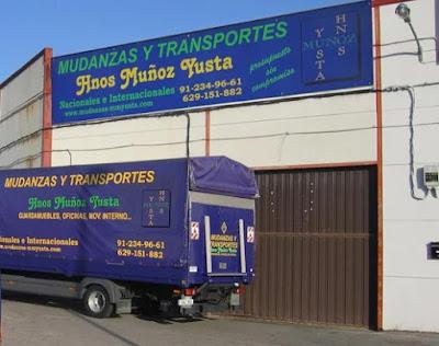 empresa mudanzas madrid hermanos Muñoz Yusta