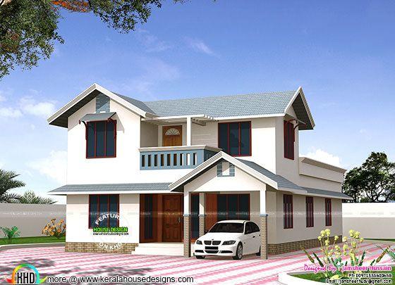 Kerala type home by Jamsheer Hussain