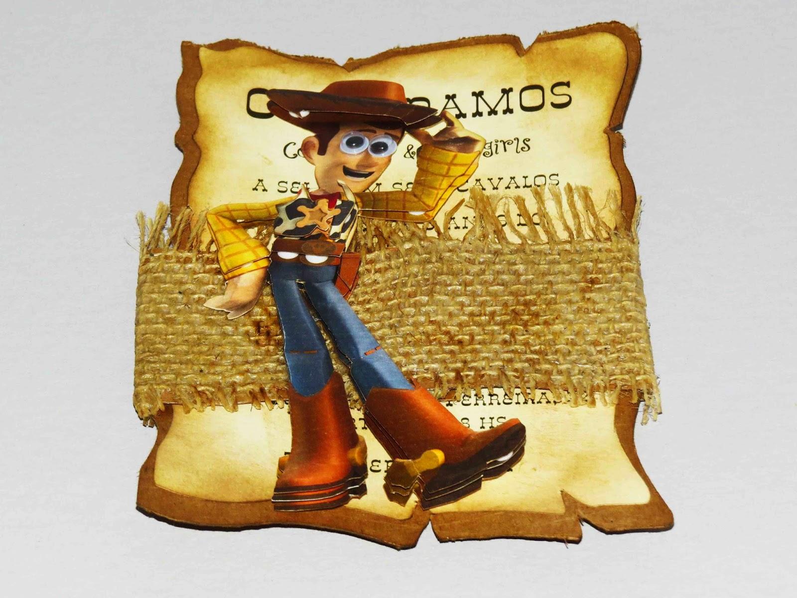 Convite para festa Infantil Toy Story