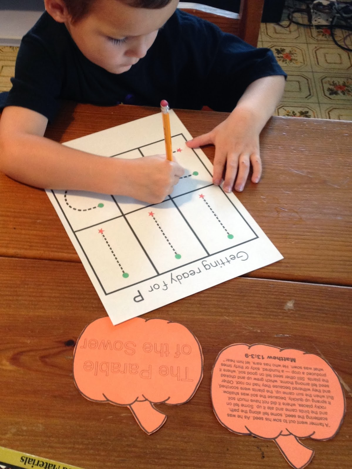 Learning In Grace P Is For Pumpkin Tot And Preschool