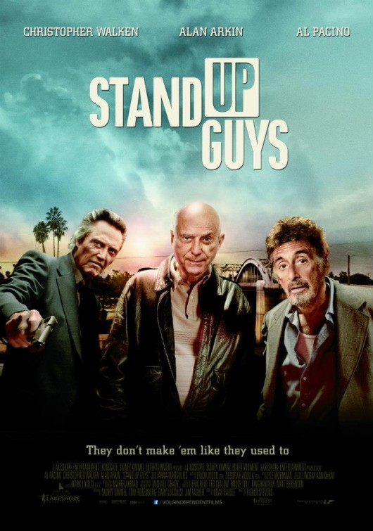 2 New Posters of Stand Up Guys : Teaser Trailer