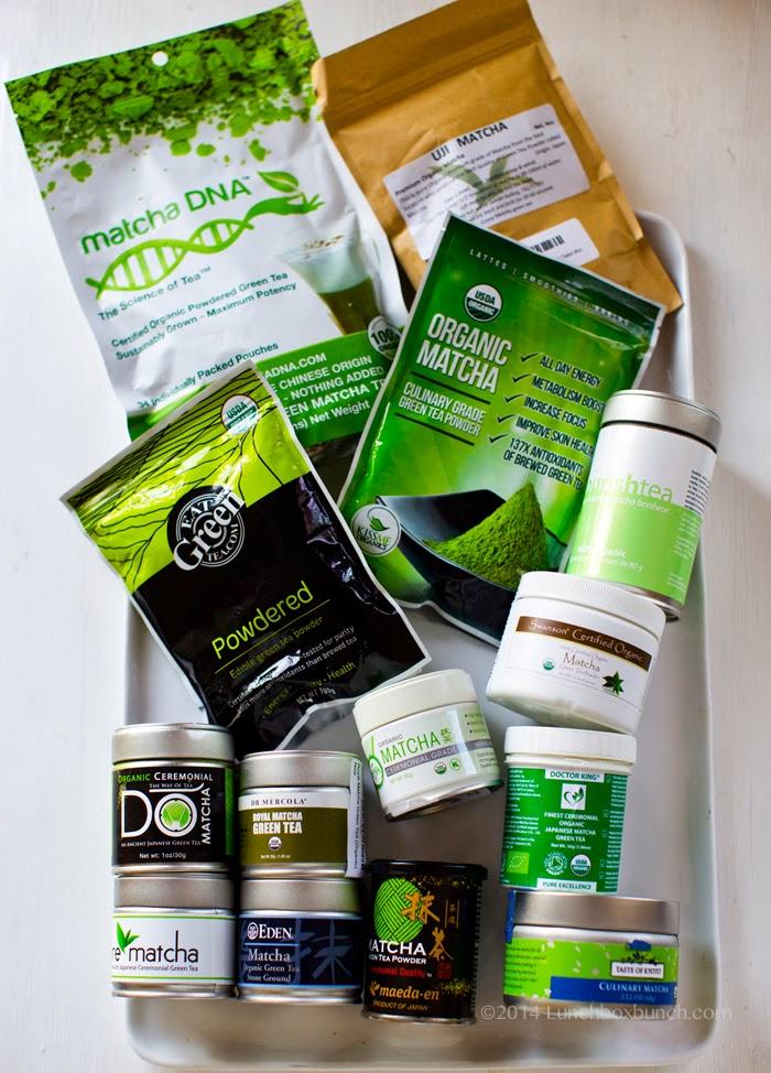 Matcha Green Tea Reviews & Brand Buying Guide - Vegan Recipe