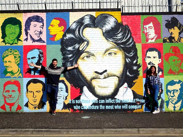 Belfast, la capital dividida por un muro
