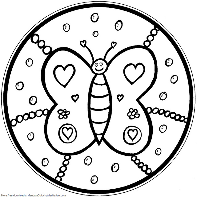 free mandalas coloring pages - photo#32