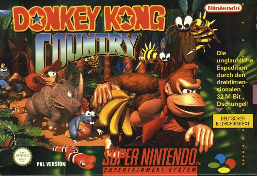 Donkey Kong Country - Portada