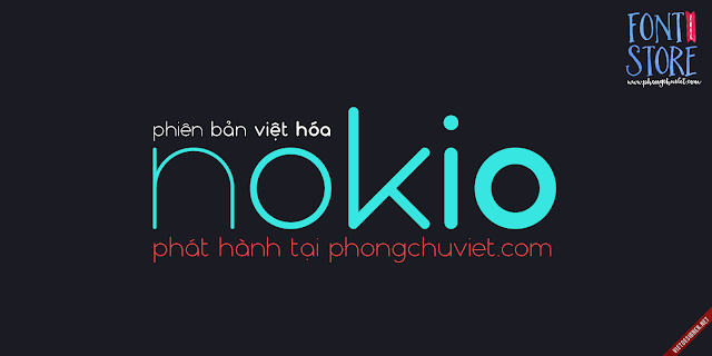 [Sans-serif] FS Nokio Việt hóa