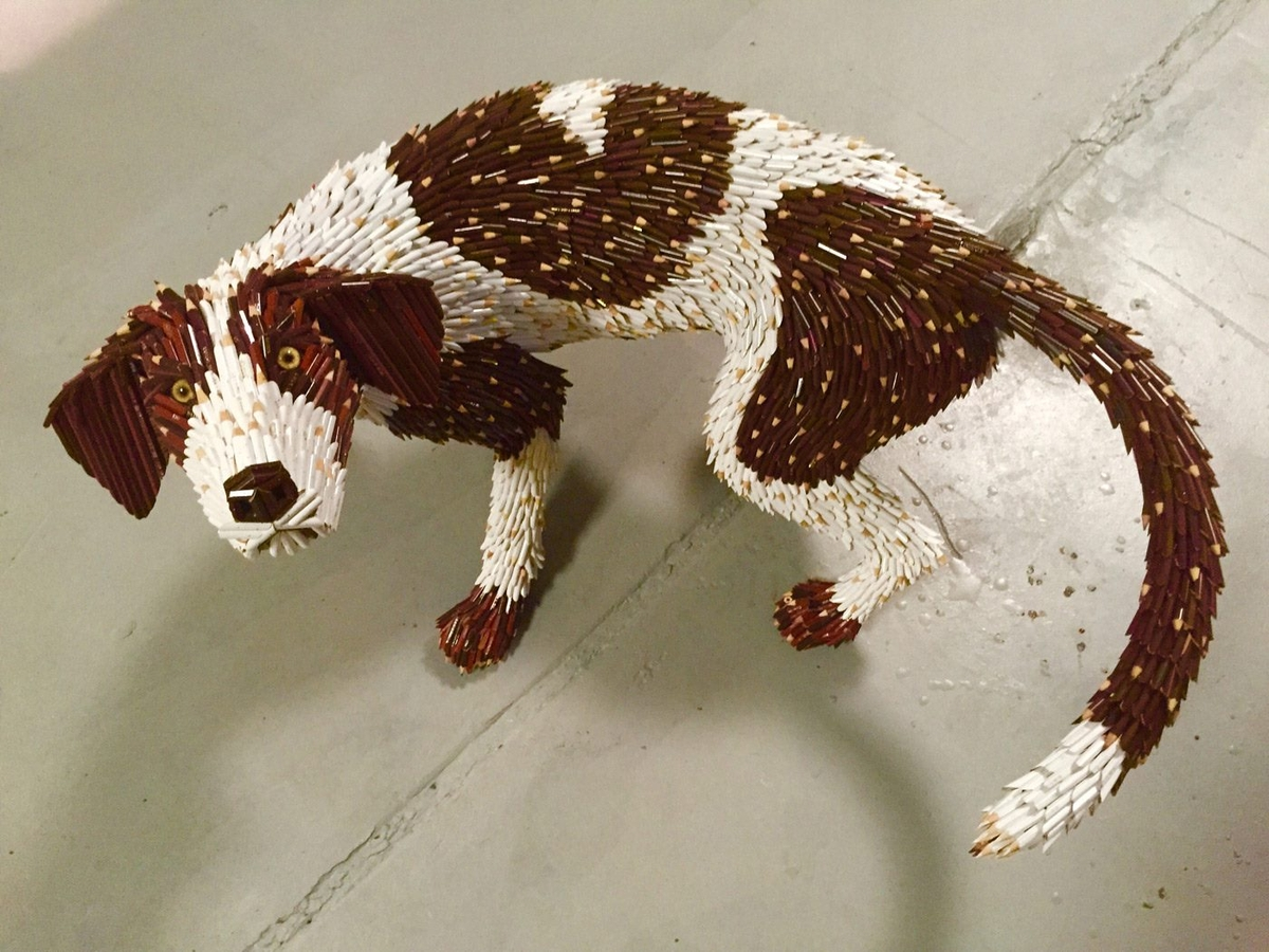 11-Dog-Federico-Uribe-Killing-it-with-Bullet-Animal-Sculptures-www-designstack-co