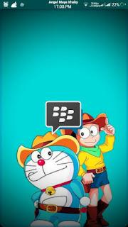 BBM MOD Doraemon Terbaru 2016