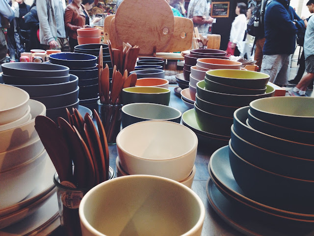 Heath Ceramics in the Ferry Building in San Francisco