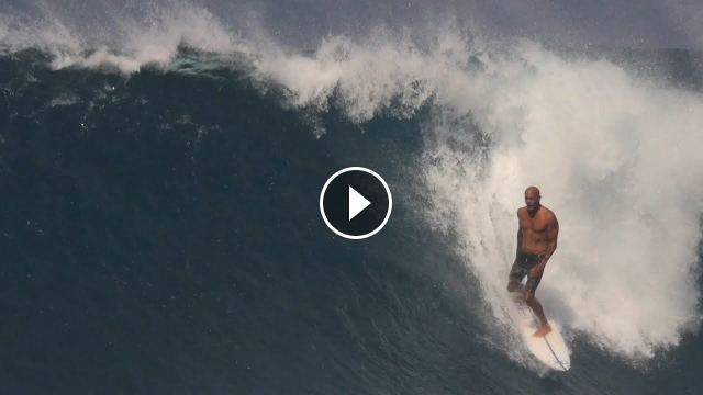 Kelly Slater Surfing on the North Shore Hawaii Filmed by Jack Coleman